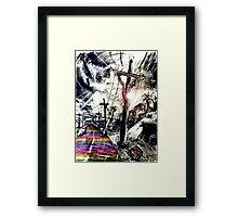 Rainbow Christ Framed Print
