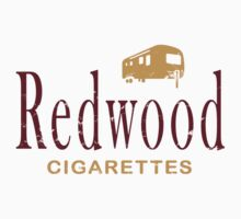 Redwood Cigarettes (distressed) by GarfunkelArt