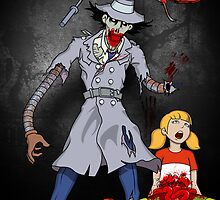 Inspector Zombie (with Penny) by DwightBynumJr