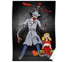 Inspector Zombie (with Penny) Poster