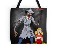 Inspector Zombie (with Penny) Tote Bag