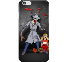 Inspector Zombie (with Penny) iPhone Case/Skin