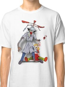 Inspector Zombie (with Penny) Classic T-Shirt