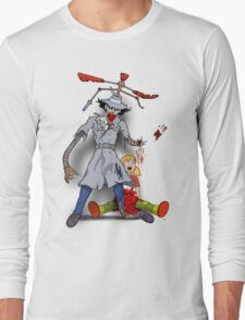 Inspector Zombie (with Penny) Long Sleeve T-Shirt