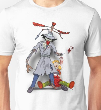 Inspector Zombie (with Penny) Unisex T-Shirt