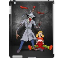Inspector Zombie (with Penny) iPad Case/Skin