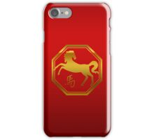 Chinese Zodiac Year of The Horse Symbol iPhone Case/Skin