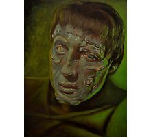 Christopher Lee as The Creature Photographic Print