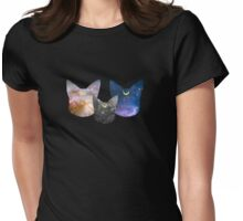 Moon Kitties Womens Fitted T-Shirt