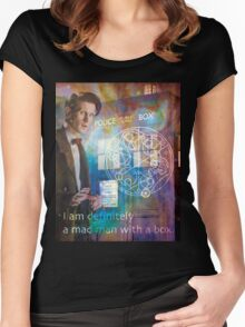 11th Doctor Who Matt Smith Women's Fitted Scoop T-Shirt