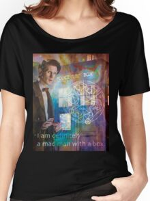 11th Doctor Who Matt Smith Women's Relaxed Fit T-Shirt