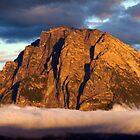 Sunny Teton Mountain by Steve Upton