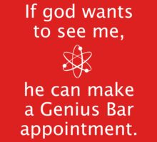 God Genius Bar Baby Tee