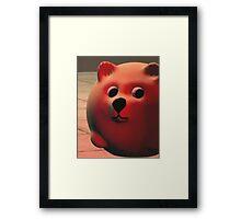 Funny Red Doge  Framed Print