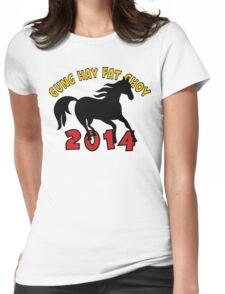 Happy Chinese New Year 2014 T-Shirts Gifts Womens Fitted T-Shirt