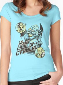 The Prank Call of Cthulhu Women's Fitted Scoop T-Shirt