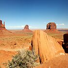 Monuments in Sand - Monument Valley, Utah, USA by Sean Farrow