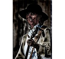 Zombie Musician 2 - Soft Color Photographic Print