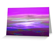 Earth Like Landscape Greeting Card