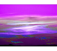 Earth Like Landscape Photographic Print