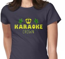 Crown Karaoke Parlor Womens Fitted T-Shirt
