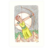 Goddess - Artemis Art Print
