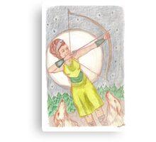 Goddess - Artemis Metal Print