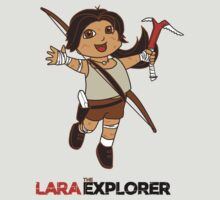 Lara the Explorer by sausagechowder