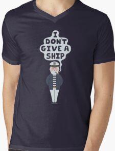 I Don't Give A Ship Mens V-Neck T-Shirt