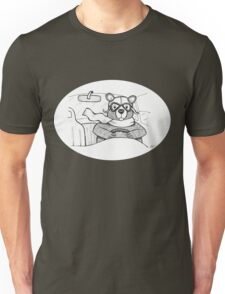 Driving Bear Unisex T-Shirt