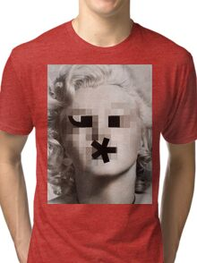 The Bombshell Emoticon Tri-blend T-Shirt