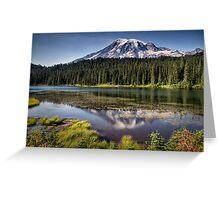 Mt Rainier Greeting Card