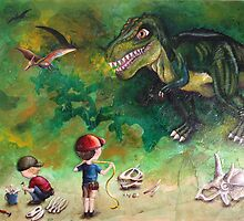 Dinosaur Dig by Kristy Spring-Brown