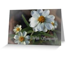 With Sympathy (#SC201) Greeting Card