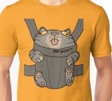 Kitty in a Baby Sling Unisex T-Shirt