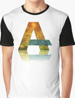 Alphabet A Graphic T-Shirt
