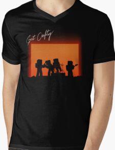 Get Crafty Mens V-Neck T-Shirt