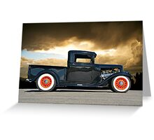 1932 Ford Pick Up IV Greeting Card