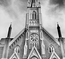 St. Marys in the Mountains. BW by Tracy Jones