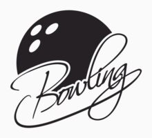 Bowling Ball Text Logo Design by Style-O-Mat