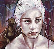 Daenerys Targaryen - Game of Thrones by OlechkaDesign