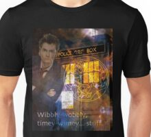 10th Doctor Who David Tennent Unisex T-Shirt