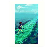 Ocean Path Art Print