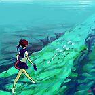 Ocean Path by Ondinel