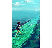 Ocean Path Photographic Print