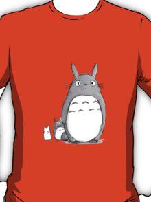 Kawaii My Neighbor Totoro Tumblr Drawing T-Shirt