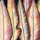 Perfect Pastels - Burnished Leaves 2 by Georgie Sharp