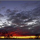 Sunset on Mt Ainslie, Canberra by Wolf Sverak