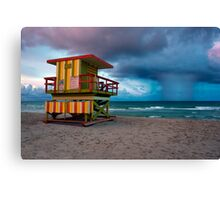 Miami South Beach Canvas Print