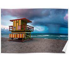 Miami South Beach Poster